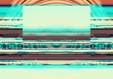 Abstract background in brown and blue tones.  Royalty Free Illustration
