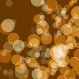 Abstract background brown bokeh circles. An Abstract background brown bokeh circles vector illustration