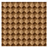 Abstract background brown geometric shapes Royalty Free Stock Photos