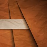 Abstract background with brown paper layers. Brown paper layers abstract background. RGB EPS 10 vector illustration vector illustration