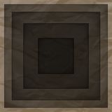 Abstract background with brown paper layers Royalty Free Stock Photo