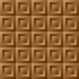 Abstract background brown tiles Royalty Free Stock Photography