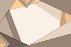 Abstract background. brown and white background. triangle backgr. Ound Royalty Free Stock Image