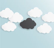 Abstract background bubble. Paper. Abstract background thunderstorm cloud. Paper. Design illustration stock illustration
