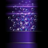 Abstract background with bubble Stock Photos