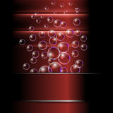 Abstract background with bubble Stock Photo