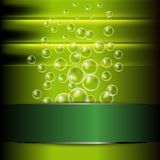 Abstract background with bubble Royalty Free Stock Photography