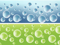 Abstract background with bubbles. Vector illustration Royalty Free Stock Images
