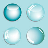 Abstract background with bubbles Royalty Free Stock Images