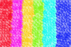 Abstract background of bubbles in various colors. Illustration Royalty Free Stock Photography