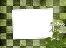 Abstract background with bunch of flower Stock Photo