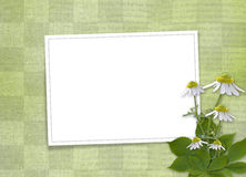 Abstract background with bunch of flower Royalty Free Stock Photography