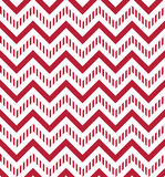 Abstract background. Burgundy and white chevron seamless pattern. Vector background Stock Image