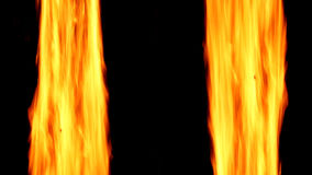 Abstract background with burning fire. Fire lines. stock footage