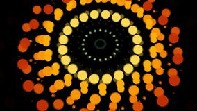 Abstract background with burst circles. 3d rendering Royalty Free Stock Photo