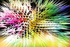 Abstract background Burst of color. Abstract background to create banners, covers, posters, cards, etc stock illustration