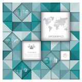 Abstract Background Business Infographic Royalty Free Stock Photography
