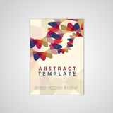 Abstract background business poster template Royalty Free Stock Photos