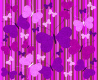 Abstract background with butterflies Royalty Free Stock Photography