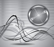 Abstract background with button. Image for design Stock Photos
