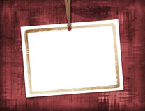 Abstract background with card Stock Photo