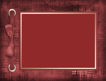 Abstract background with card. For greeting or congratulation with bow Royalty Free Stock Photos