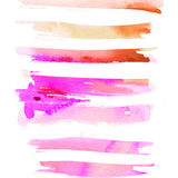 Abstract background for a card. Watercolor painting. Handmade. Paint spots Stock Photo