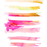 Abstract background for a card. Watercolor painting. Handmade. Paint spots Royalty Free Stock Images