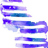 Abstract background for a card. Watercolor painting. Handmade. Paint spots Stock Photos