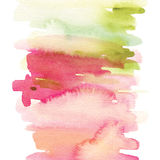 Abstract background for a card. Watercolor painting. Handmade. Paint spots Stock Images