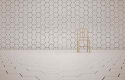 Abstract background of the chair Royalty Free Stock Images