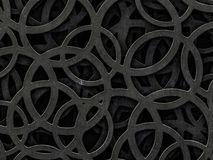 Abstract background of a chaotic structure. 3D. Rendering stock illustration