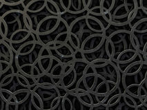 Abstract background of a chaotic structure. 3D. Rendering royalty free illustration