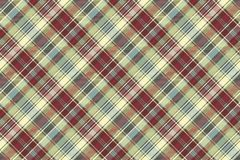 Abstract background check fabric texture seamless pattern. Vector illustration Royalty Free Stock Photo