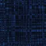 Abstract background with checkered pattern. Abstract dark blue background with checkered pattern Stock Photo