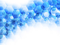 Abstract Background. For chemical biotechnology and medical Royalty Free Stock Photo