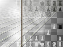 Abstract background with chessboard. Checkmate. Vector. Illustration Royalty Free Stock Photos