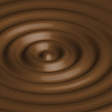 Abstract background with chocolate circles. Stock Photos