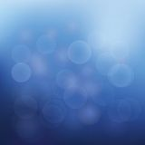 Abstract background of christmas blue lights. For your design stock illustration