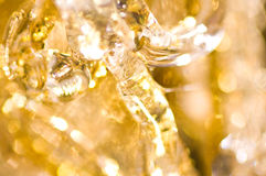Abstract background of christmas decoration Royalty Free Stock Image