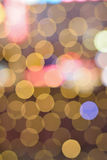 Abstract background Christmas illumination blur Royalty Free Stock Images