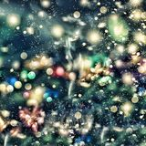 Abstract background. Christmas background, Christmas. Magical fairy background. Bokeh  blur  blurred Royalty Free Stock Image