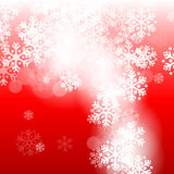 abstract background christmas red Στοκ Εικόνες