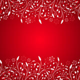 abstract background christmas red Στοκ Εικόνα