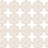 Abstract background Christmas snowflakes. Snowflake Pattern Vector illustration Royalty Free Stock Images