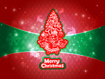 Abstract background with Christmas tree. Christmas background texture with Christmas tree Stock Photo
