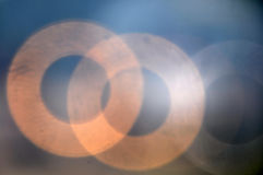 Abstract background circle bokeh stock photo