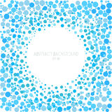 Abstract background of circle. Creative template for design. Stock Images