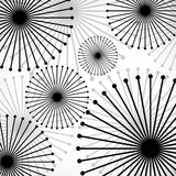 Abstract background from circle. Abstract background with dots and lines. Vector Illustration. Eps10 royalty free illustration