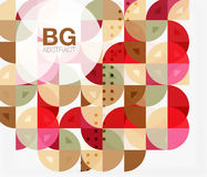 Abstract background of circle elements Royalty Free Stock Photos